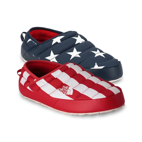 54ee8ac08906 Size 10 Men s North Face IC Mule Slippers USA Flag